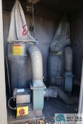 1-1/2 HP ENCO DUST COLLECTORS **LOCATED IN SHED BEHIND BUILDING** **NOTICE: SHED STAYS WITH