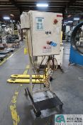 MORRELL JOB NO. MIU000617 STAND ALONE PORTABLE CONTROL CABINET WITH REX ROTH INDRAMAT SYSTEM 200