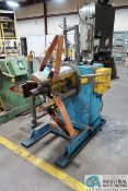 4,000 LB. CAPACITY AMERICAN STEEL LINE MODEL 60 EXPANDING MANDREL UNCOILER; S/N 7064 (NEW 2-1984),