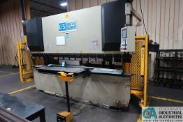 88 TON X 10' US INDUSTRIAL MACHINERY MODEL US 8810 HYDRAULIC PRESS BRAKE; S/N W2007-163