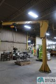 """1 TON CAPACITY X 12' ARM (APPROX.) X 13"""" OVERALL HEIGHT FREE STANDING JIB CRANE, WITH 1 TON CAPACITY"""