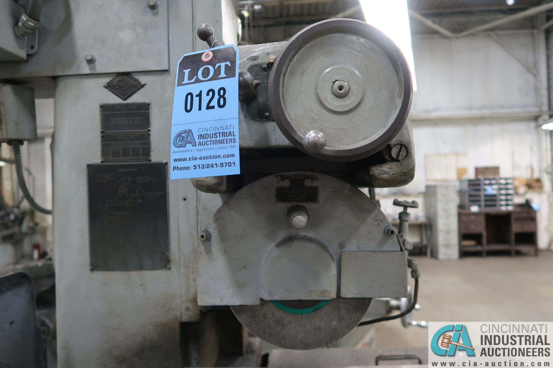 """6"""" X 18"""" THOMPSON HAND FEED SURFACE GRINDER; S/N F46258, 220 VOLTS, 3-PHASE, 1-1/2 HP MOTOR - Image 6 of 10"""