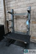 """12"""" ARM X 39"""" WIDE X 72"""" HIGH MECO SINGLE SIDED CANTILEVER RACK"""