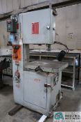"19"" POWERMATIC MODEL 87 VERTICAL BAND SAW; S/N 65-5715, WITH BLADE WELDER"