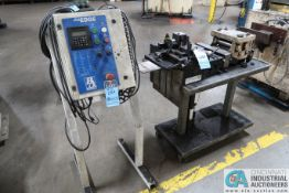 P/A INDUSTRIES MODEL SRF2000 SERVO FEEDER WITH STRAIGHTENER; S/N 28180104 AND P/A INDUSTRIES ULTRA