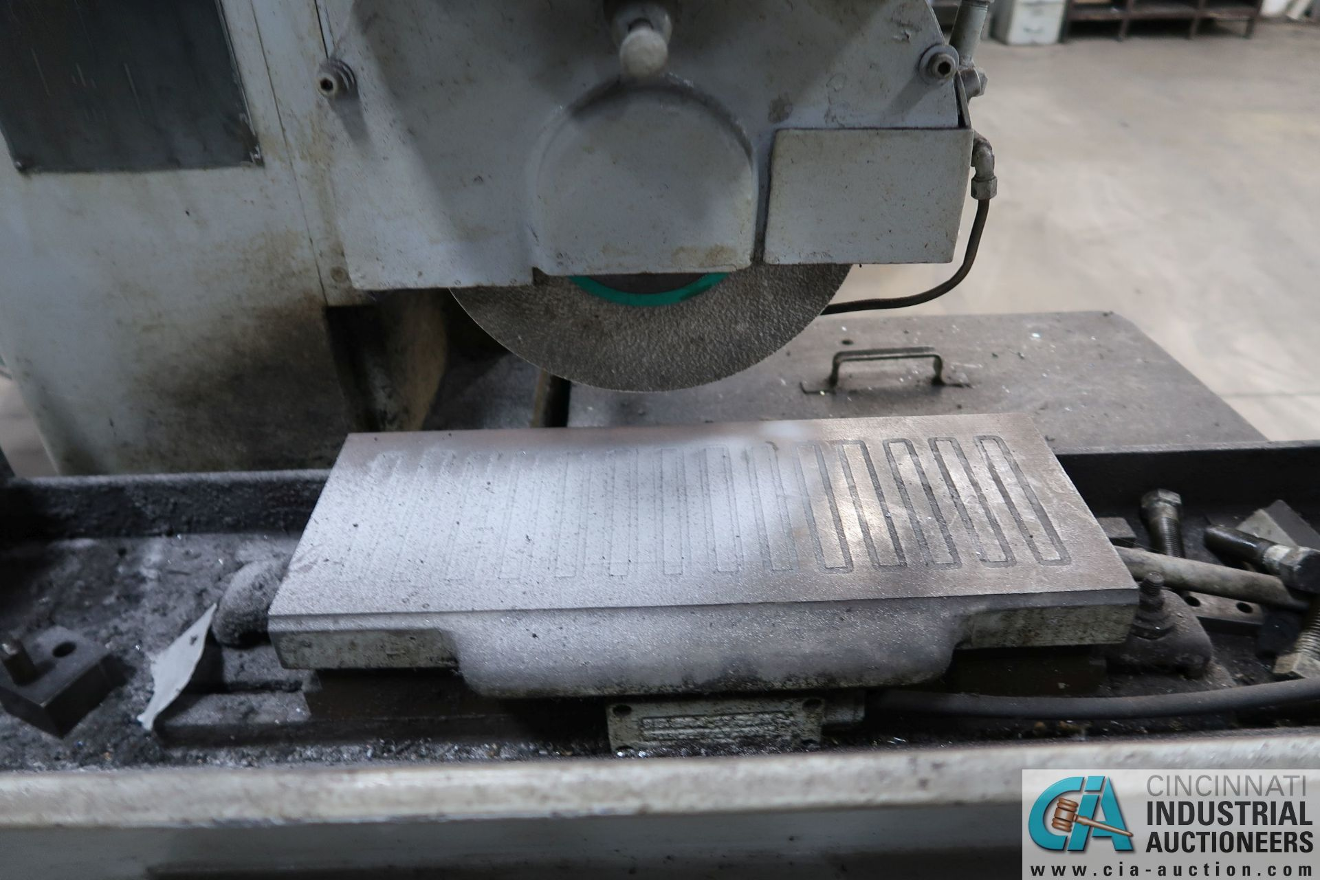 """6"""" X 18"""" THOMPSON HAND FEED SURFACE GRINDER; S/N F46258, 220 VOLTS, 3-PHASE, 1-1/2 HP MOTOR - Image 5 of 10"""