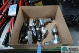 (LOT) MISCELLANEOUS PNEUMATIC POWER HAND TOOLS