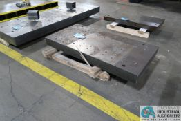 """24"""" X 48"""" X 4"""" THICK DRILLED AND TAPPED PRESS BED"""