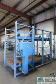 "44"" X 120"" X 96"" HIGH CHAMPION MATERIAL HANDLING DUAL LEVEL POWER ROLLER CONVEYOR"