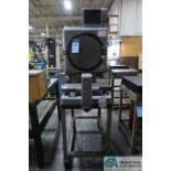 "14"" DIAMETER KODAK MODEL 2A OPTICAL COMPARATOR; S/N 3321251, WITH QUADRA-CHEK 200 DIGITAL READ"