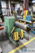 4,000 LB. CAPACITY AMERICAN STEEL LINES MODEL 60 EXPANDING MANDREL UNCOILER; S/N 8298 (NEW 6-