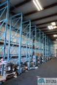 """SECTIONS 50"""" X 50"""" X 180"""" HEAVY DUTY ADJUSTABLE DIE STORAGE RACK SYSTEM, 25,000 LB. CAPACITY PER"""