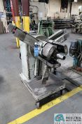 4,000 LB. CAPACITY (APPROX.) PORTABLE EXPANDING MANDREL UNCOILER; S/N N/A, WITH LOOP CONTROL LIMIT