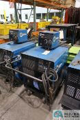 300 AMP MILLER CP-302 WELDER; S/N LB251732, WITH MILLER 22A 24 VOLT WIRE FEEDER **LOCATED AT 4119