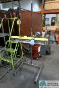 INFRATECH MODEL SRU-1615 PORTABLE INFRARED DRYER **LOCATED AT 4119 BINION WAY, LEBANON, OH 45036**