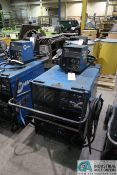 300 AMP MILLER CP-302 WELDER; S/N LE233513, WITH MILLER 60 SERIES 24 VOLT WIRE FEEDER **LOCATED AT