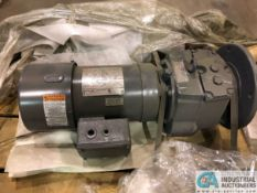 2-HP BROWNING MOTOR WITH BROWNING SERIES 3000 GEAR REDUCER