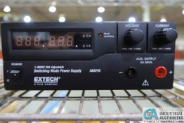 EXTECH 382275 SWITCHING MODEL POWER SUPPLY **LOCATED AT 4119 BINION WAY, LEBANON, OH 45036**