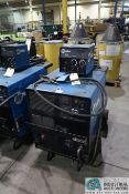300 AMP MILLER CP-302 WELDER; S/N LC190163, WITH MILLER 22A 24 VOLT WIRE FEEDER **LOCATED AT 4119