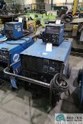 300 AMP MILLER CP-302 WELDER; S/N LB251739, WITH MILLER 60 SERIES 24 VOLT WIRE FEEDER **LOCATED AT