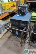 300 AMP MILLER CP-302 WELDER; S/N LB251740, WITH MILLER 22A 24 VOLT WIRE FEEDER **LOCATED AT 4119