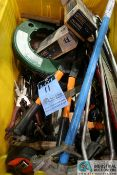 (LOT) MISCELLANEOUS TOOLS **LOCATED AT 4119 BINION WAY, LEBANON, OH 45036**