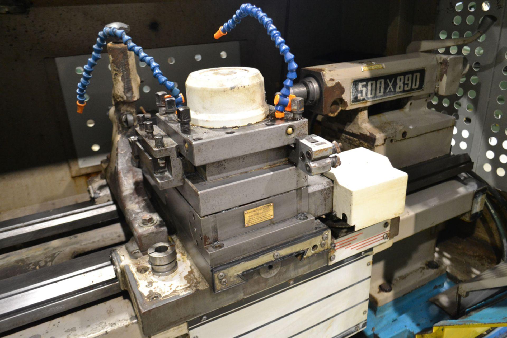"SHENYANG LATHE (CNC) MOD. CAK 6150 Di, 19.5 x 33"", S/N: CMK35 - Image 6 of 7"