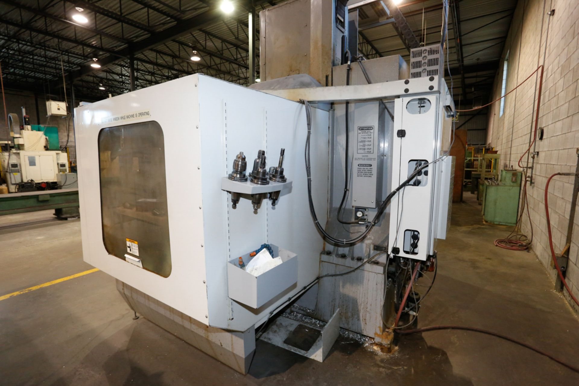 HAAS VF5/50XT 3-AXIX CNC VERTICAL MACHINING CENTER, EXTENDED TRAVEL, 10,000 RPM, 30 ATC, 30 HP 2 - Image 7 of 10