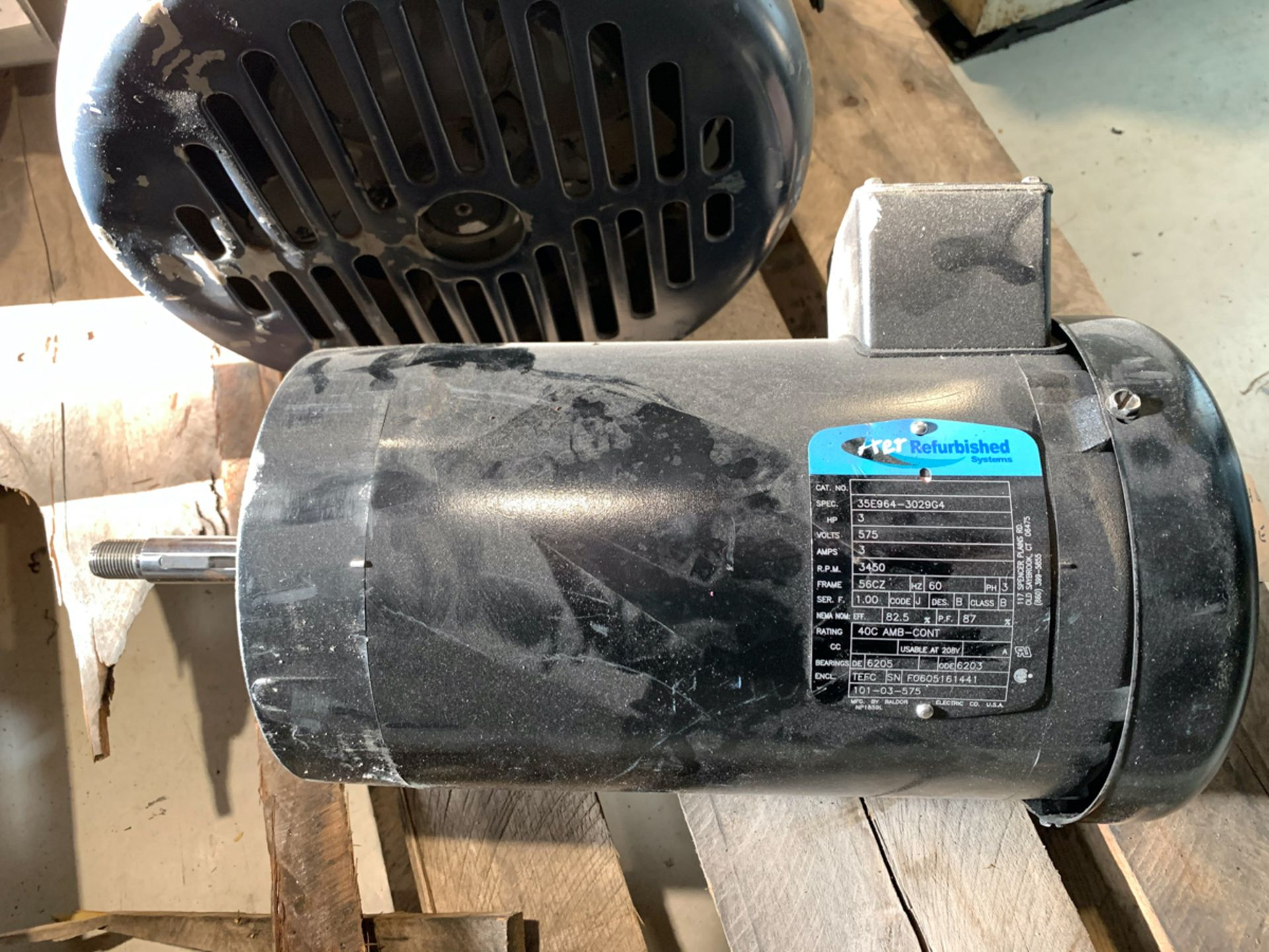 AER 3 HP MOTOR, 575 VOLTS