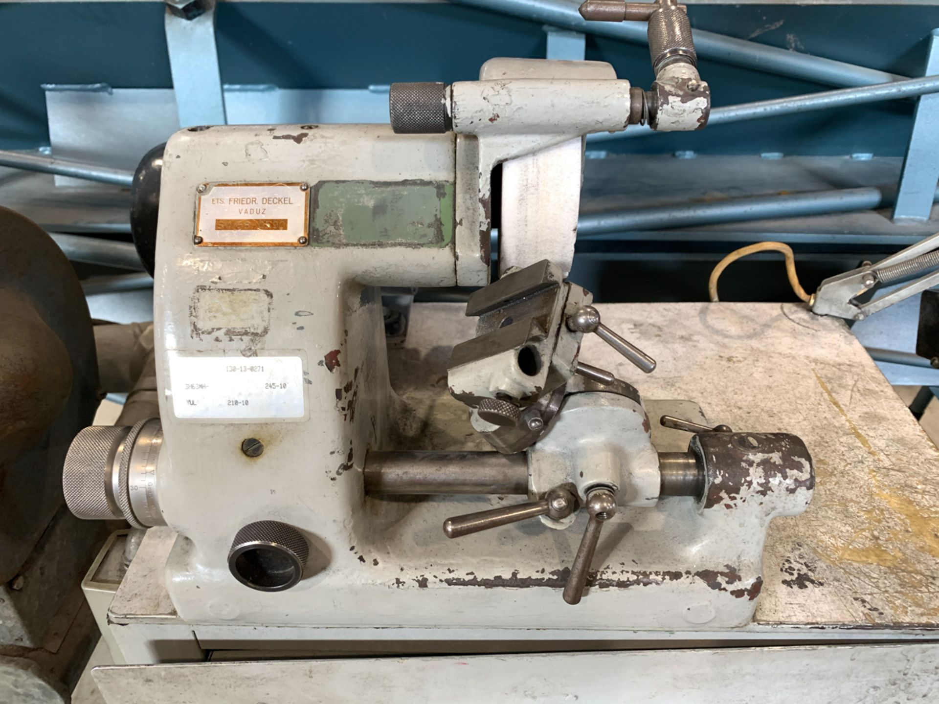 DECKEL TOOL & CUTTER GRINDER MOD 50/58-0592 W/ ACCESSORIES - Image 2 of 5