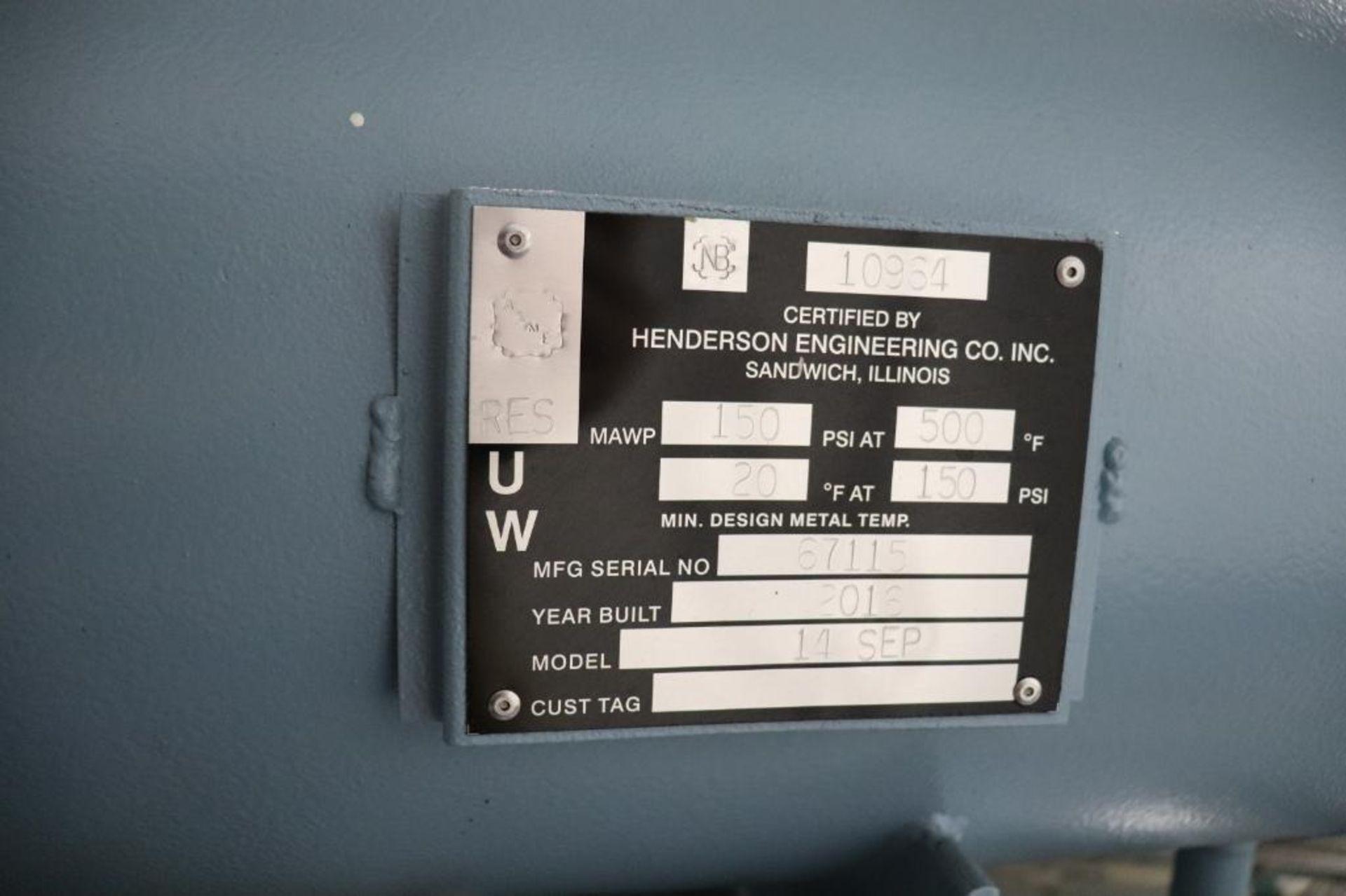Elliot 180AD 1800 CFM compressor w/ dryer - Image 12 of 19