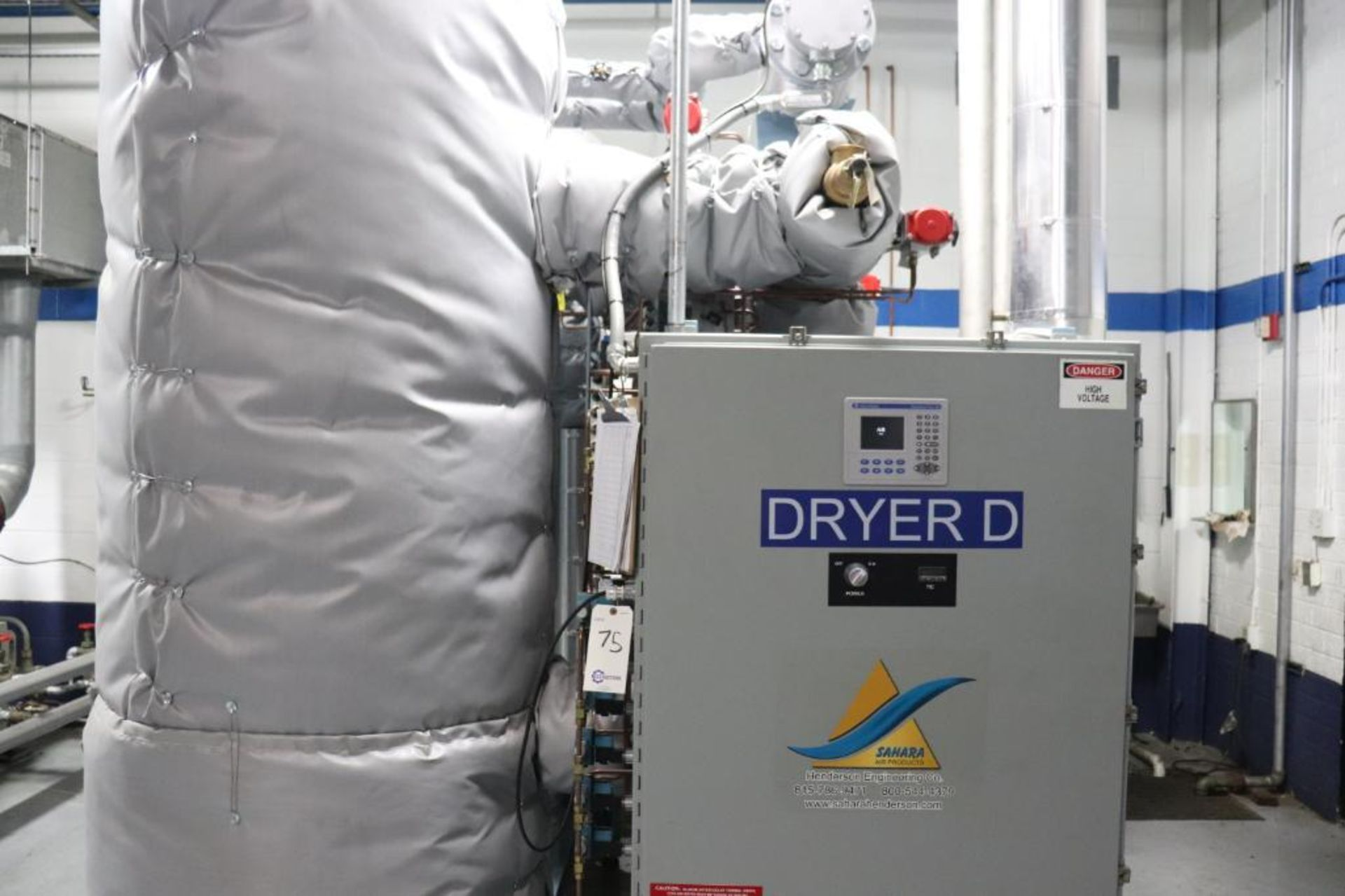 Elliot 180AD 1800 CFM compressor w/ dryer - Image 19 of 19