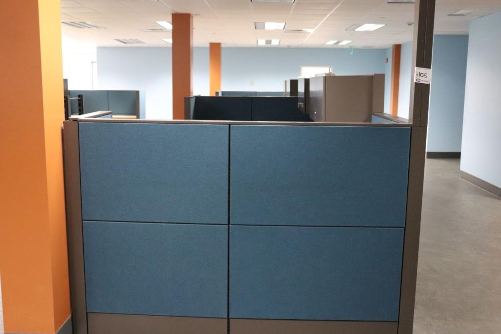 Office cubicle sections - Image 5 of 5