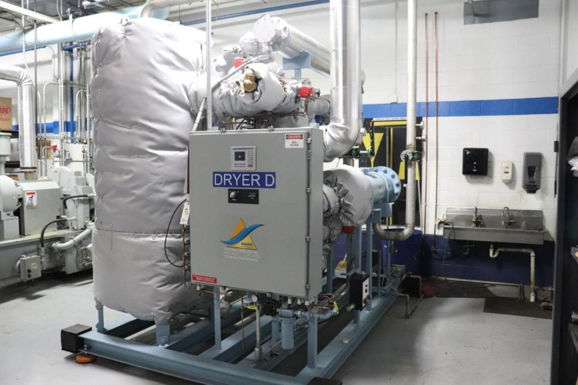 Elliot 180AD 1800 CFM compressor w/ dryer - Image 13 of 19