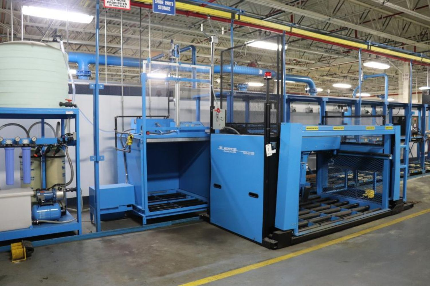 Large Plant Support & Battery MFG Equipment Auction