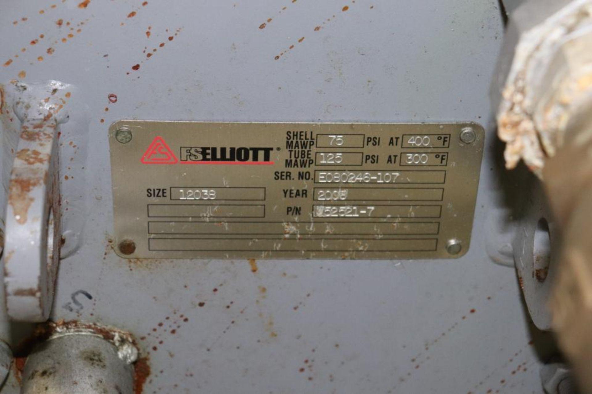 Elliot 180AD 1800 CFM compressor w/ dryer - Image 10 of 19