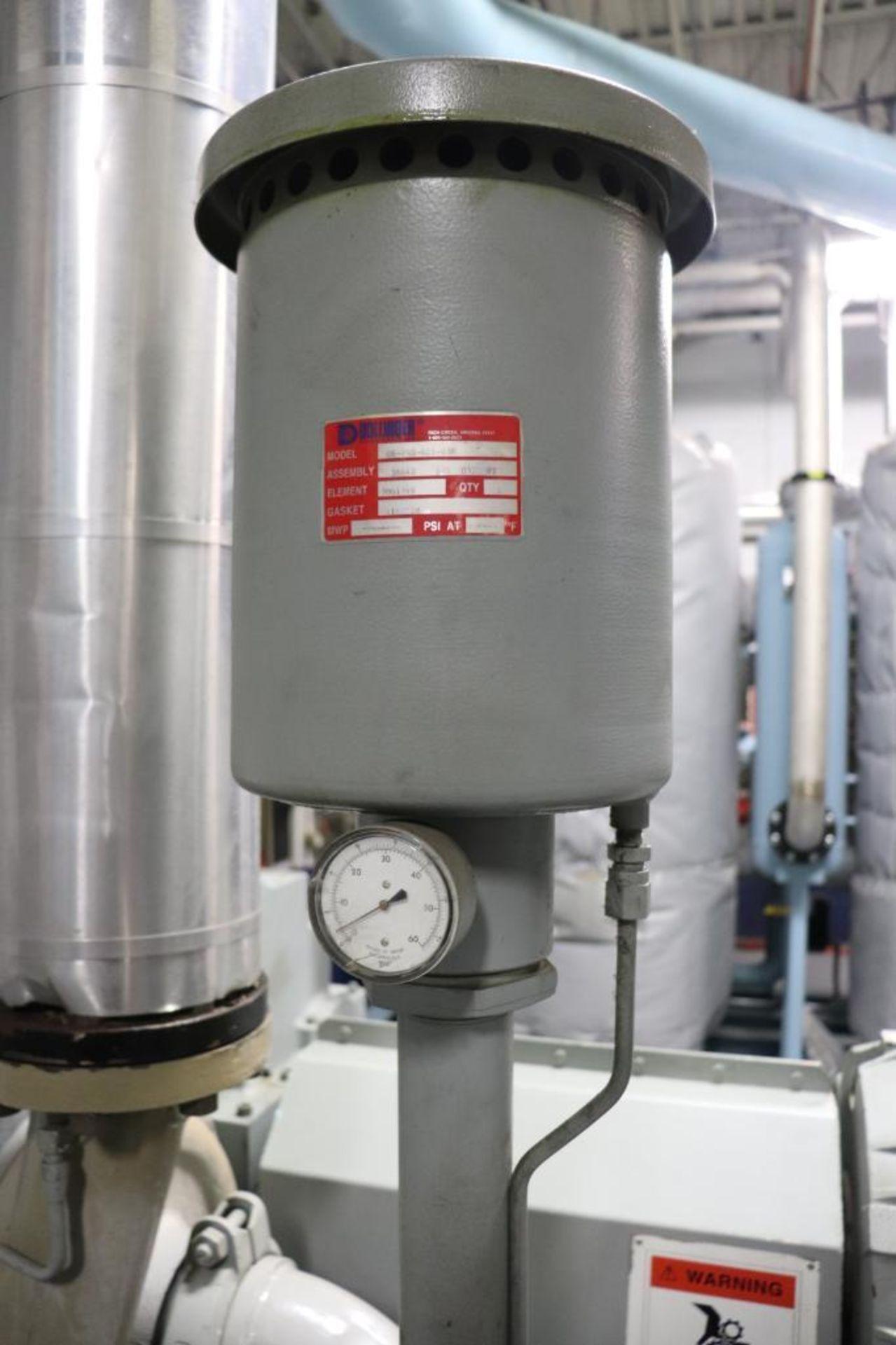 Elliot 180AD 1800 CFM compressor w/ dryer - Image 6 of 19