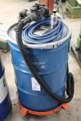 Exair Chip Trapper pneumatic coolant pump & filter