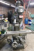Lagun FTV-2 Vertical milling machine w/ DRO