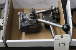 Aloris CXA tool post w/ holders