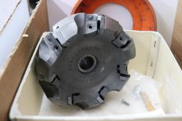 Mitsubishi & Kennametal face milling cutters