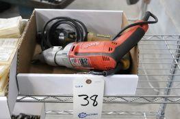 Milwaukee 18 gage shear & DeWalt DW510 drill