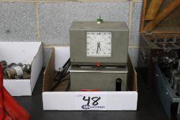 Lathem Model 2121 Time clock