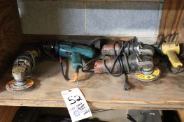 Power tools, contents of 1 shelf