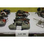 Porta band & angle grinders