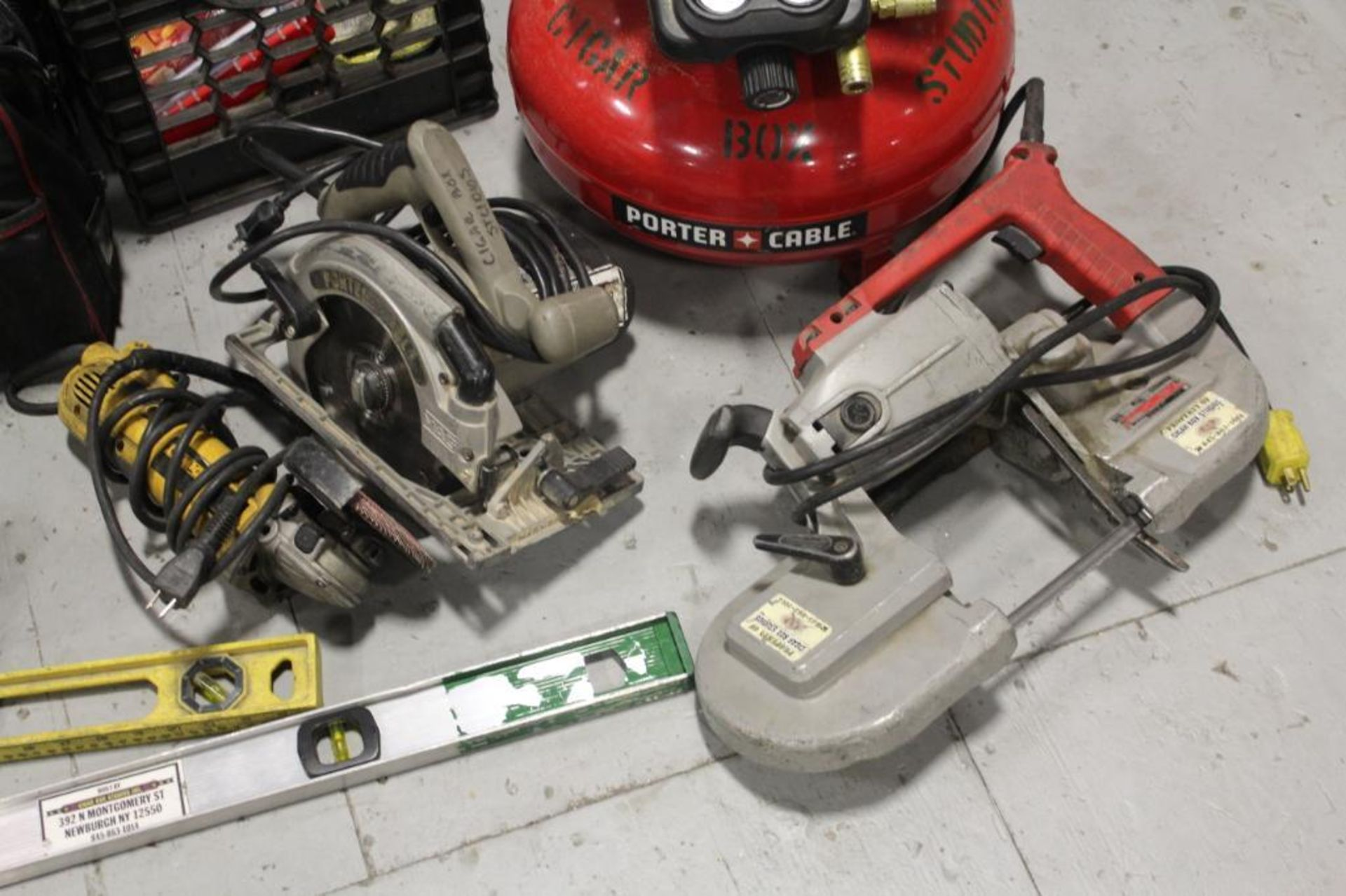 Greenlee tool box w/contents - Image 6 of 7