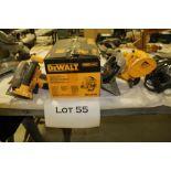"""DeWalt 6-1/2"""" 18v cordless circular saw"""