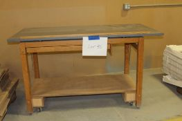 "Wood drafting table 70""w x 37-1/2""d x 39""h"