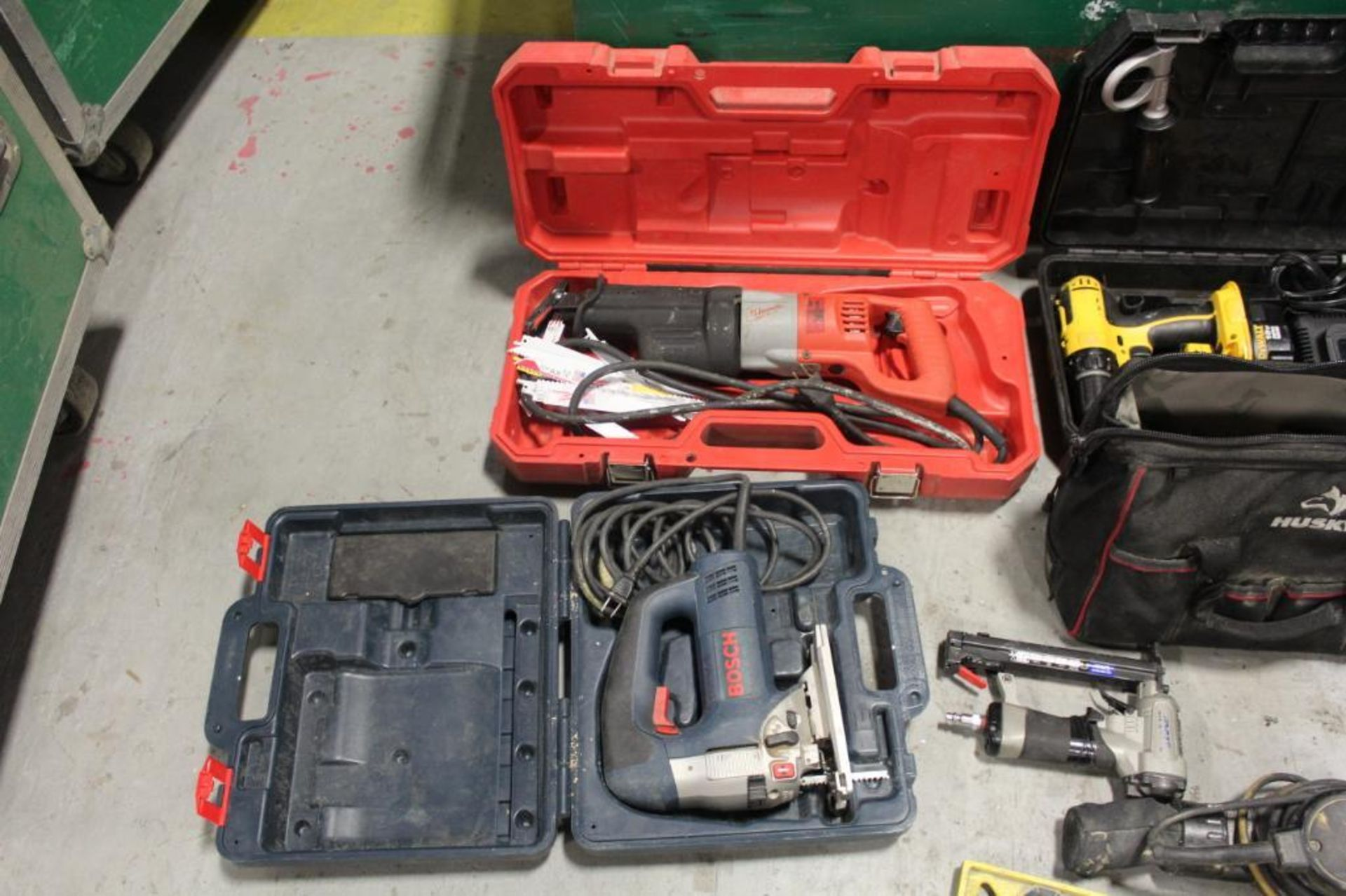 Greenlee tool box w/contents - Image 3 of 7