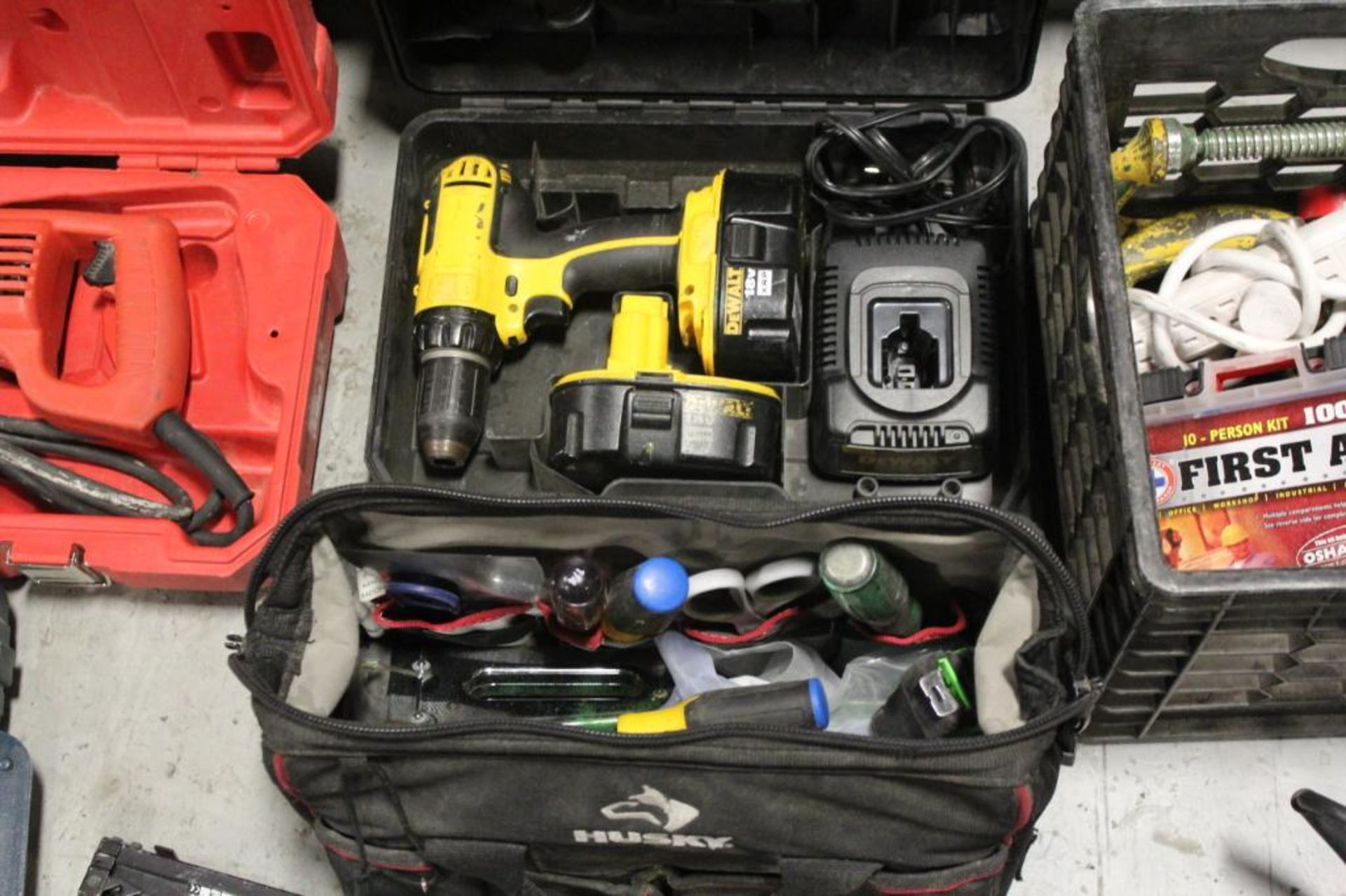 Greenlee tool box w/contents - Image 4 of 7